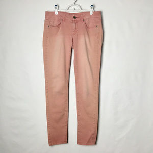 American Eagle Pink Jeans Skinny Stretch Jeans 6